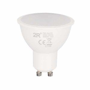 Λάμπα LED GU10 Spot, 5W, 400lm, 120°