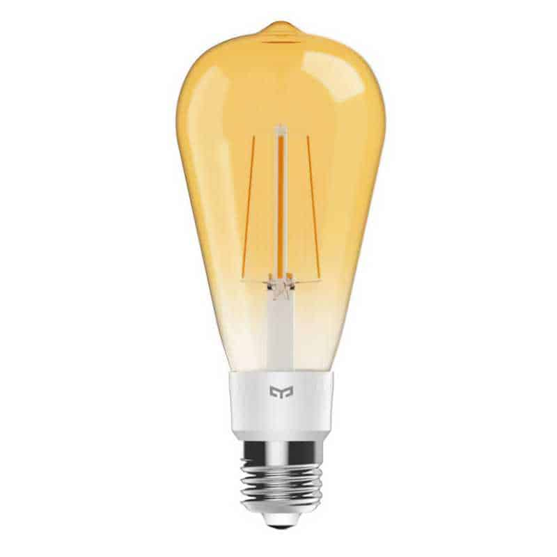 Smart λάμπα LED Filament Yeelight WiFi, 6W, E27, 500lm, Ultra θερμό